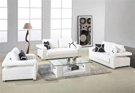 white sofa living room ideas white leather sofa with arms and glass top table for small