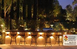bbq island outdoor lighting by system pavers bbq