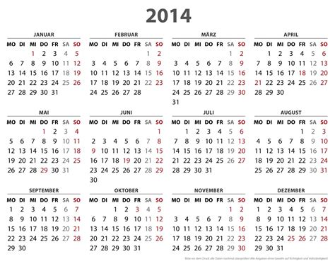 2014 Year Calendar Template by 2014 Calendar 2017 Printable Calendar