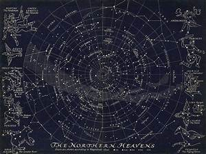 Map Of The Northern Stars By Bryonie Porter