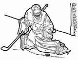 Colouring Hockey Erik Karlsson Labonte Charline sketch template