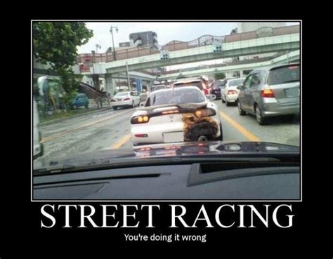 Street Racing- Notice This Picture Is Capturing The Rx-7