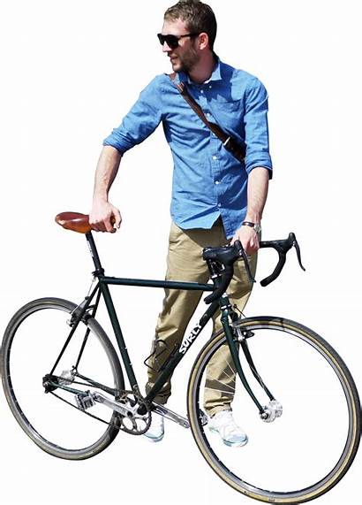 Photoshop Cut Cyclist Bike Person Riding Newdesignfile