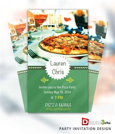 Party Invitation Design (PSD) Design3edge com