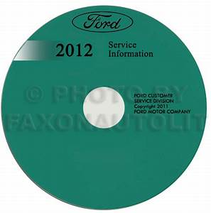 2012 Ford Taurus Wiring Diagram Manual Original