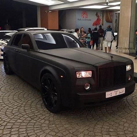 matte rolls royce matte black rolls royce phantom luxury rr phantom