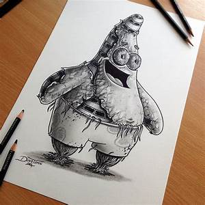 17 Expressive Pencil Drawings By Dino Tomic
