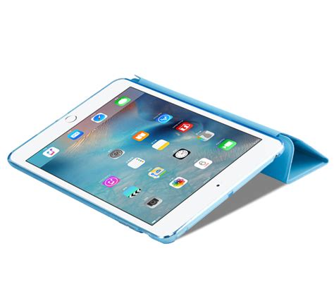 Cheap Cool Sky Blue Leather New iPad Pro Covers Or Cases