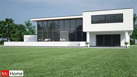 Nieuwbouw Huis Bouwen Prijzen by Cheap Mchomenl M Moderne Kubistische Villa Met Veel Glas