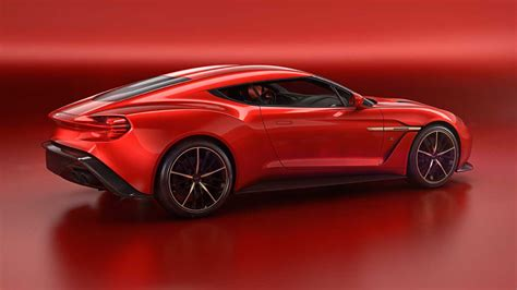 Aston Matin Car :  Vanquish Zagato Concept Unveiled