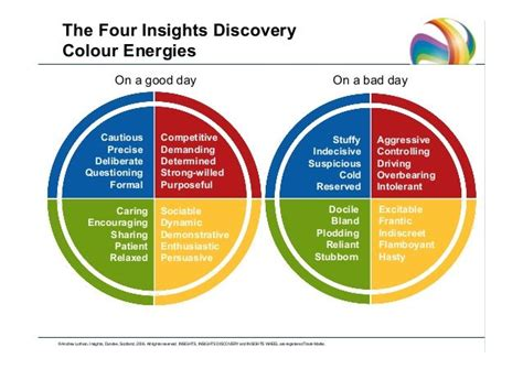 good day bad day insights discovery leadership traits