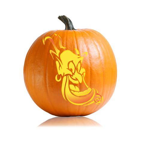 disneys aladdin genie pumpkin stencil ultimate pumpkin