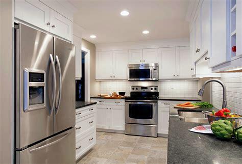 white kitchen cabinets with gray granite countertops grey