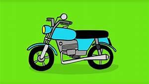 Image De Moto : apprendre dessiner une moto youtube ~ Medecine-chirurgie-esthetiques.com Avis de Voitures
