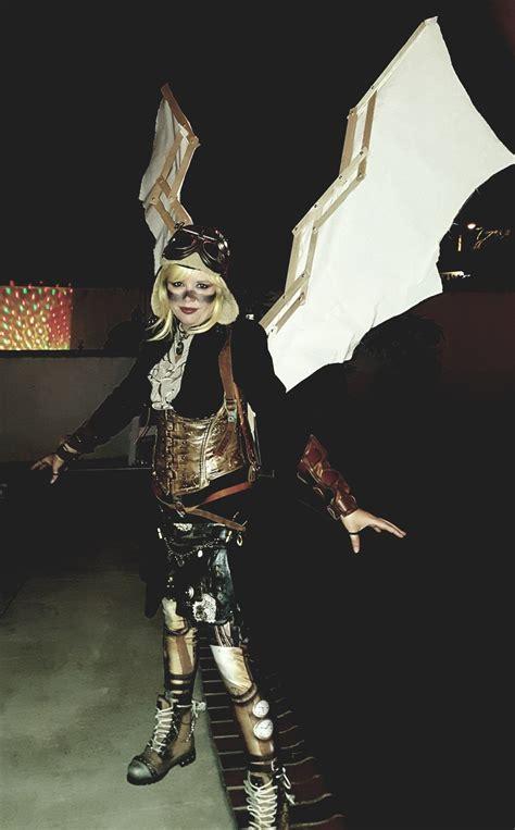 Da Vinci Wings Steampunk Pilot Pixy Fantasy Costumes