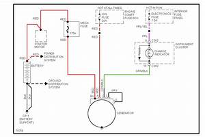 Ford Contour Alternator Wiring Diagram