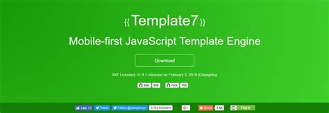 Javascript Templating Engine 7 Javascript Templating Engines With Code Exles
