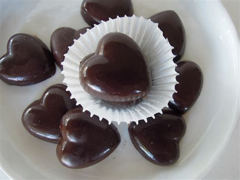 Chocolate Hearts Image by Chocolate Hearts Fork And Beans