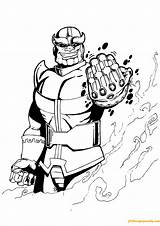 Thanos Coloring Avengers Pages Printable Endgame Marvel Infinity War Ingrahamrobotics Heroes Sheets Darkseid Sketch Bestcoloringpagesforkids Adult Template Para Hulk Mightiest sketch template