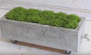 Fabriquer Grande Jardiniere Beton : tutoriel r aliser un bac fleurs en b ton ~ Melissatoandfro.com Idées de Décoration