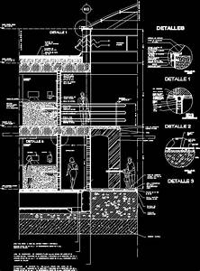 Waffle Slab Facade Dwg Section For Autocad  U2022 Designs Cad