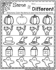 halloween worksheets images halloween