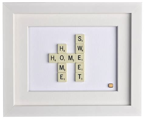 home sweet home scrabble art by copperdot