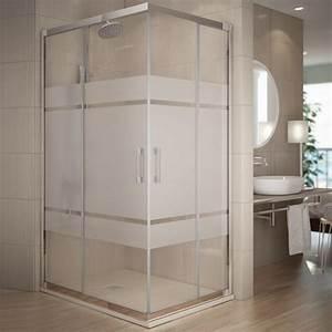 Cabine De Douche 90x90 : cabine de douche coulissante 90x80 cm serigraphie rhin ~ Dailycaller-alerts.com Idées de Décoration