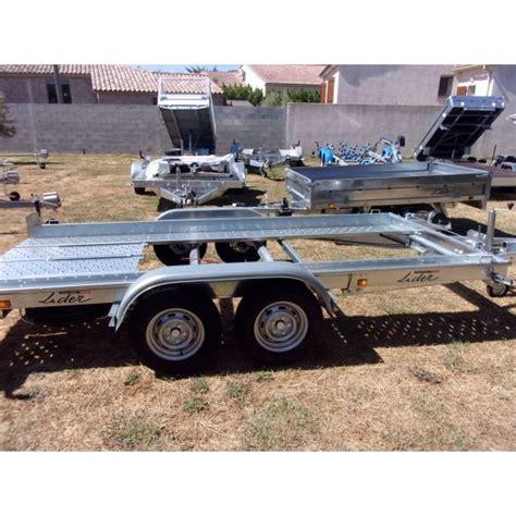 Remorque Lider Porte Voiture by Remorque Porte Voiture Lider 2500kg