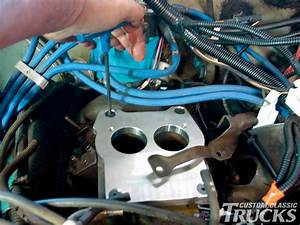 Chevy 350 Small-block Carb To Tbi Conversion