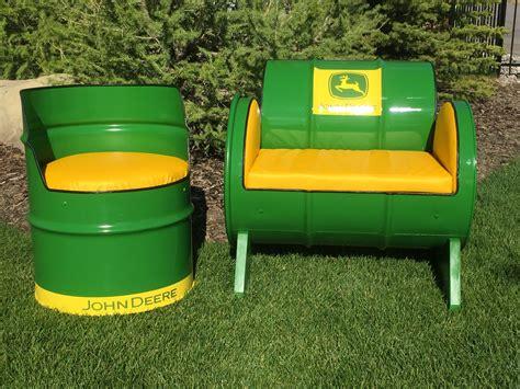 steel barrel furniture   finished  today