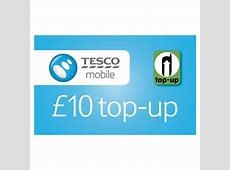 tesco mobile phone top up