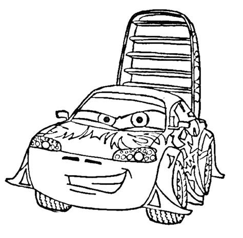 cars characters coloring pixar cars color pages az coloring pages