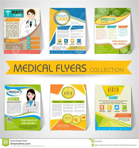 Flyers Templates Free by Healthcare Brochure Templates Free Best And