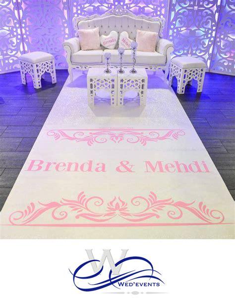 tapis pour mariage nouveaut 233 mariage 2016 personnalisez votre tapis d all 233 e et votre tr 244 ne