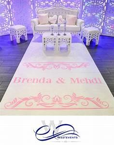 nouveaute mariage 2016 personnalisez votre tapis d39allee With tapis personnalisé mariage