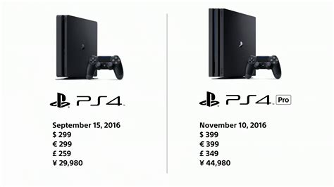 ps4 pro neue version sony upgrades ps4 for 4k gaming and slimmer version tv tech geeks news