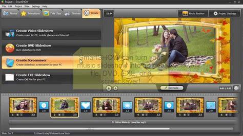 create  slideshow    turn  video