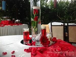 Deco Mariage Rouge Et Blanc Pas Cher : decoration mariage blanc et rouge ~ Dallasstarsshop.com Idées de Décoration