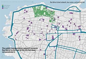 Analytical Maps Of Ras Beirut
