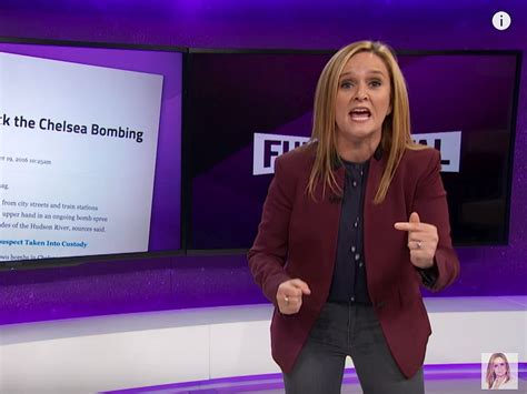 leftist scolds  samantha bee    reason