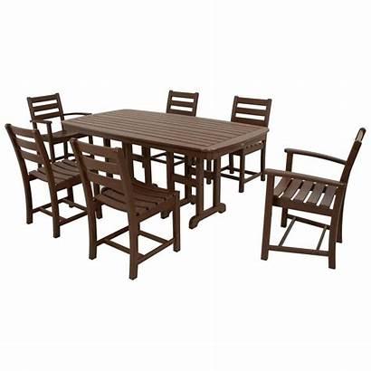 Furniture Trex Patio Outdoor Dining Plastic Piece