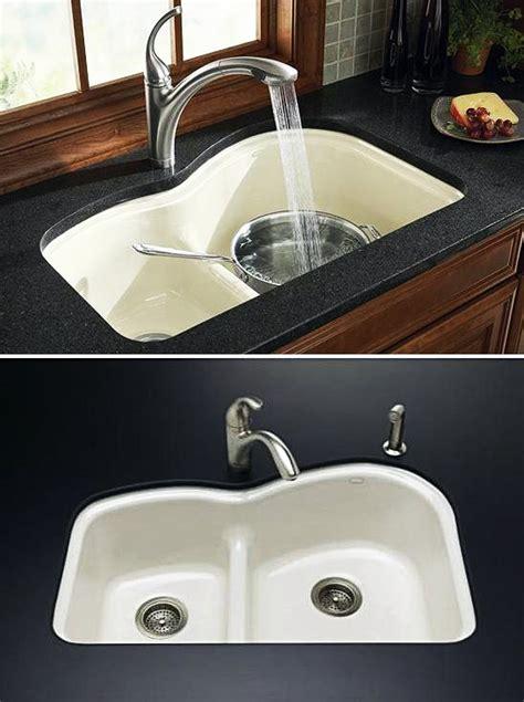 Kohler Woodfield Smart Divide Sink by Woodfield Smart Divide 174 Undercounter Kitchen Sink