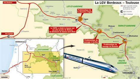Distance Entre Pau Et Bordeaux lgv bordeaux toulouse valid 233 e mais 10 01 2012