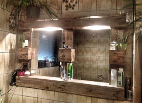 Spiegelschrank Badezimmer Ideen by Weiteres Paletten Spiegelschrank Mit Beleuchtung Ein