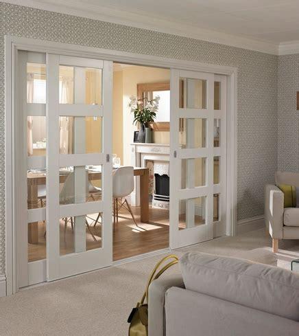 primed  panel shaker glazed door howdens joinery