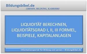 Liquidität Berechnen : lernen bildung karriere finanzen online lernen ~ Themetempest.com Abrechnung