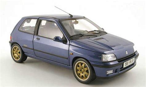 renault clio williams blue  norev diecast model car