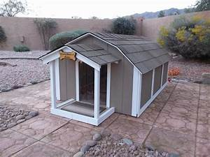i want to build an air conditioned dog house any advice With large dog house with ac