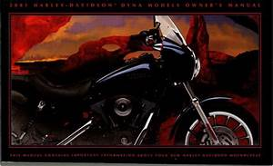 2001 Harley Davidson Dyna Motorcycle Owners Manual